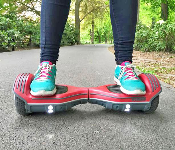 The Oxboard is an Electric Segway Scooter Without The Handlebars