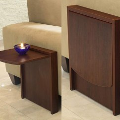 Long Chair Couch Sofa Tan Leather Sale The Tuc-away Table Is A Side That Flips Up When You Need It