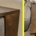 These Behind The Couch Tables With Integrated Outlets Are Becoming A Thing And We Love It