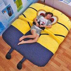 Pet Bed Sofa Cover Fillmore Urban Barn This Despicable Me Minion Has Arms That Will Hug You