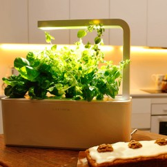 Kitchen Herb Kit Modern Cabinets This Smart Garden Starter Makes Growing Your Own ...