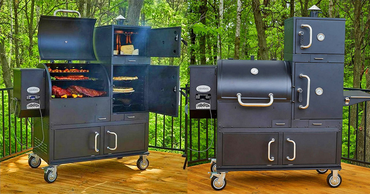 This Ultimate Grill Features 238 Square Feet Of Cooking Area