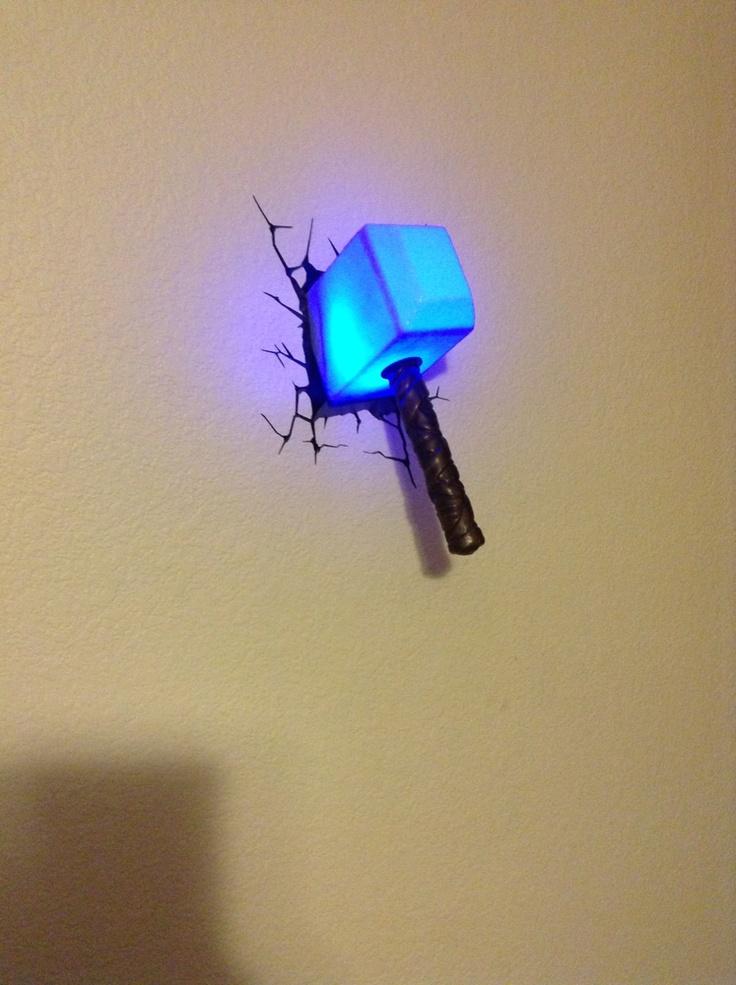 Thors Hammer Nightlight