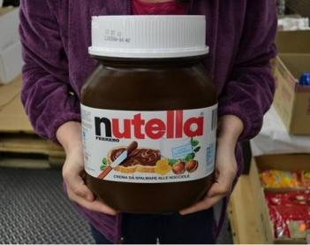 awesome kitchen gadgets island lighting fixtures giant 11lb tub of nutella
