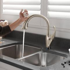 Delta Touch Kitchen Faucet Cabinet Diagrams Activated Water