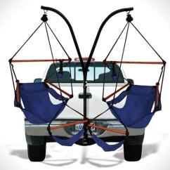 Hanging Hammock Chairs Outdoors Aeron Chair Manual Hammaka: A Trailer Hitch Dual Set