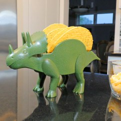 Where Can I Buy A Kitchen Table Cabinets And Countertops Tricerataco: Dinosaur Shaped Taco Holder