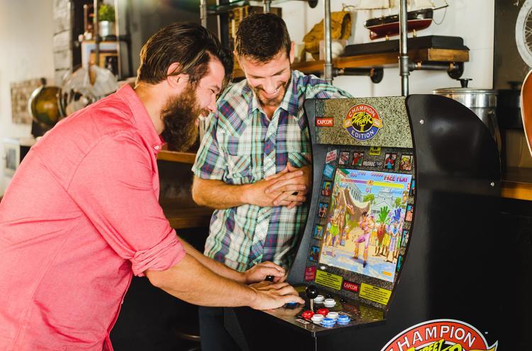 Arcade1Up A Mini 4 Foot Retro Arcade Machine