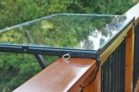 Balcony Railing Tray Table
