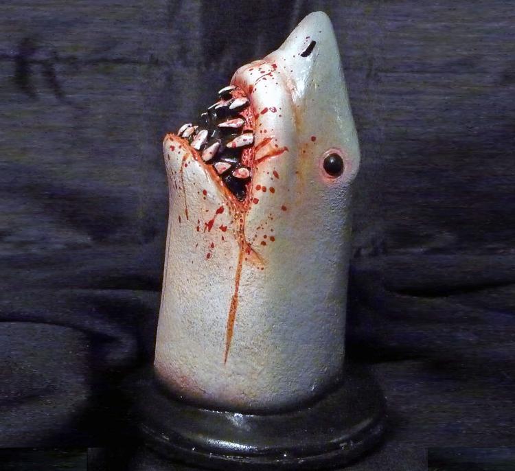 Bloody Shark Bathtub Drain Stopper