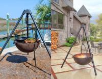 Cowboy Cauldron: A Hanging Tripod Fire Pit & BBQ (Probably ...