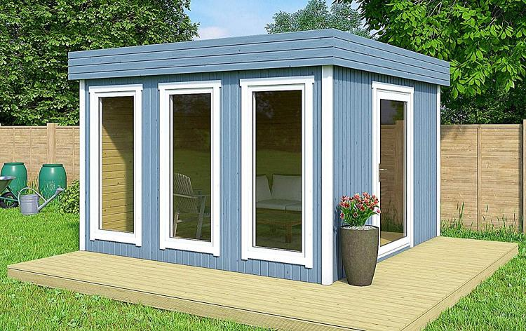 Diy Backyard Guest House That Can Be Built In 8 Hours