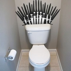 Game Of Thrones Office Chair Orange Dining Room Covers Toilet Wall Decal