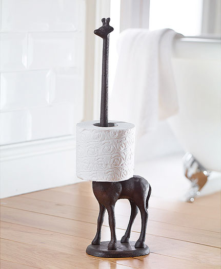 Giraffe Toilet Paper Holder