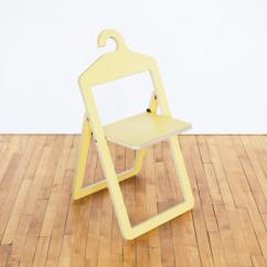 Folding Chair For Less Ergonomic Teenager Hanger A That Hangs In Your Closet When Not Use