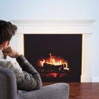 fireplace wall decal | Roselawnlutheran