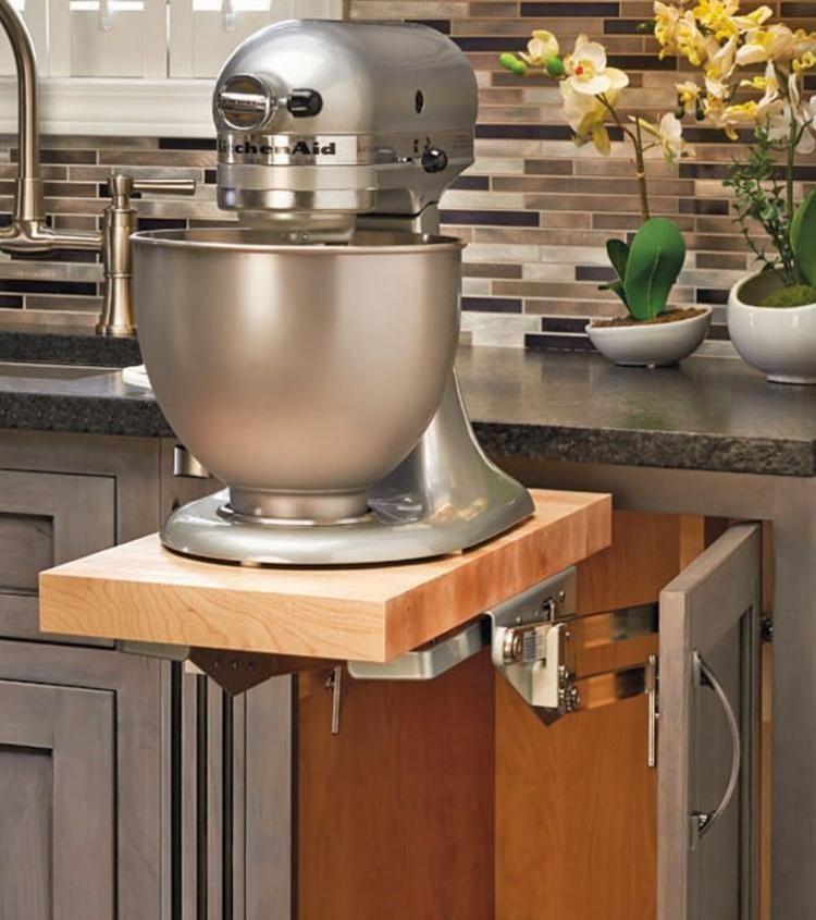 This HeavyDuty Mixer Lift Lets You Easily Access and