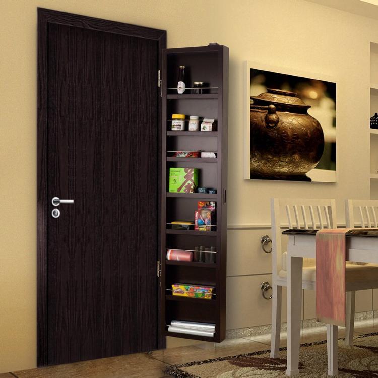 Cabidor A Hidden Cabinet System That Installs Onto Any Door