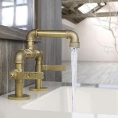 Modern Kitchen Sink Faucets Anti Fatigue Floor Mats This Bathroom Faucet Looks Like An Old Industrial Pipe
