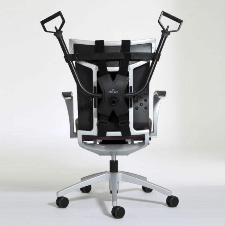 This Workout Device Attaches To Your Work Chair For
