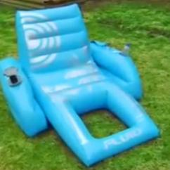 Motorized Easy Chair Heywood Wakefield And Ottoman Palm Beach Pool Lounger Inflatable With A Motor Joystick