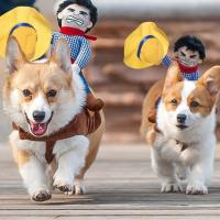 Rodeo Cowboy Dog Costume