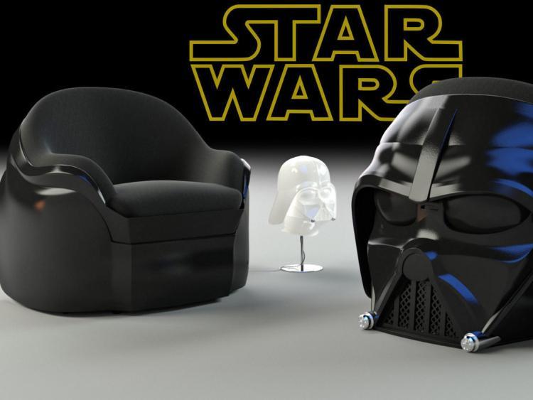 Star Wars Darth Vader Luxury Armchair