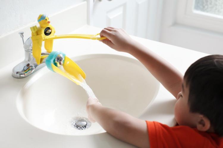 baby kids faucet handle extender sink