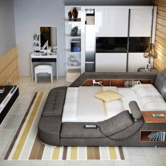 Foot Massage Sofa Chair Sleeper Sofas San Francisco The Ultimate Bed With Integrated Chair, Speakers ...