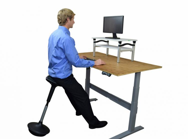 wobble chair uk gaming for ps4 stool a wobbling ergonomic office to sit or lean the