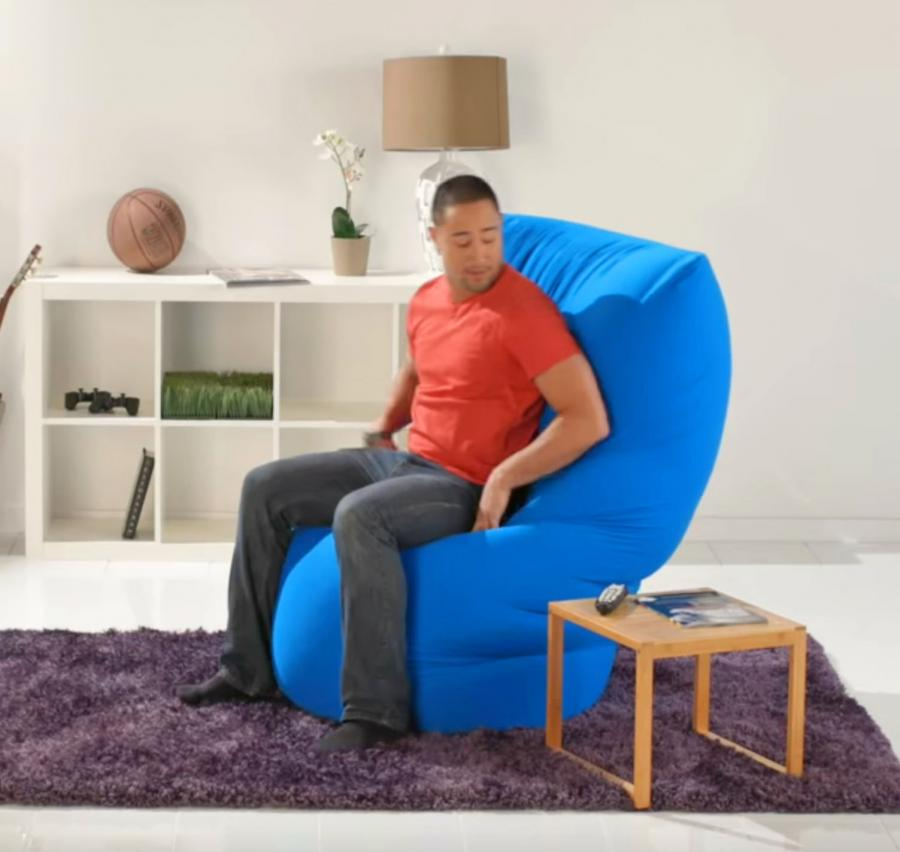 Yogibo Roll Ultimate Bean Bag Chair That Molds To Your Body