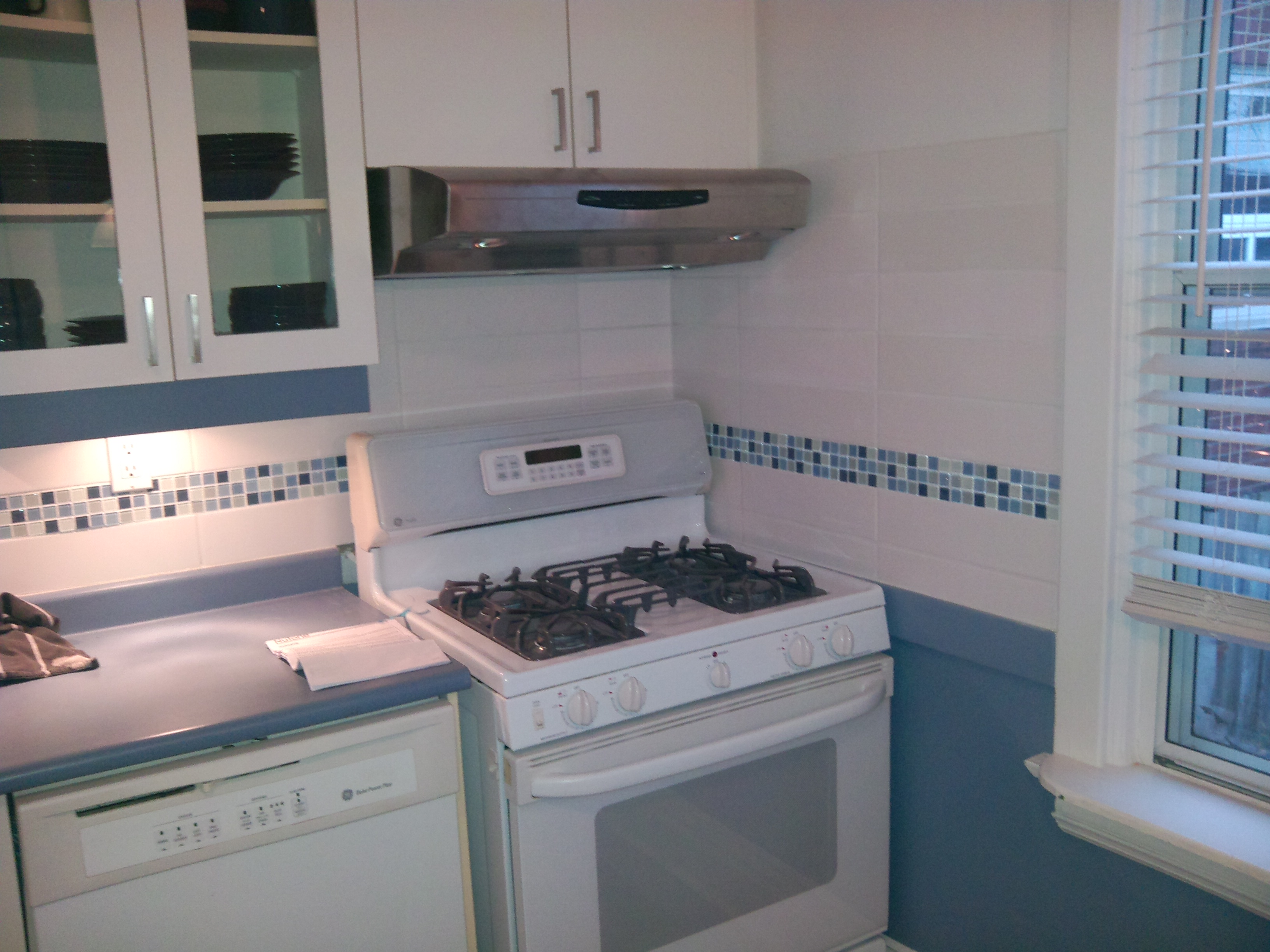 Before And After: Adding Mosaic Tiles In The Kitchen