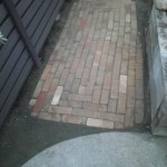 Finished Brick Paving