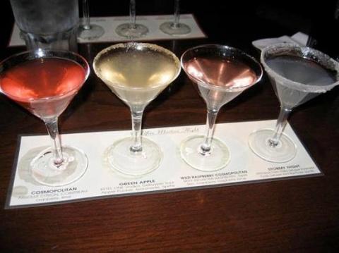 Martini Sampler