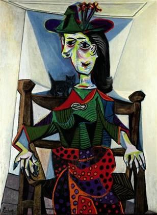 1941 Dora Maar au Chat