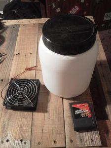 Cold Air Fan