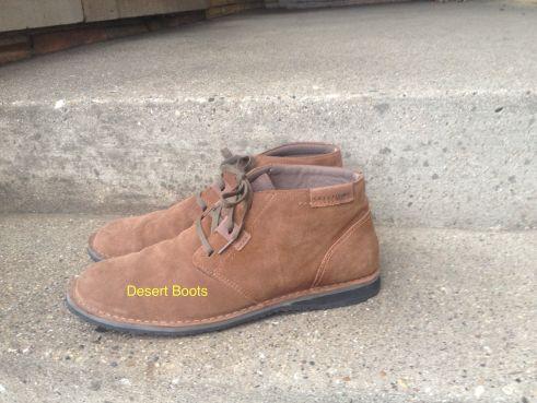 Thrift Desert boots