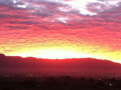 Sunrise Albuquerque New Mexico