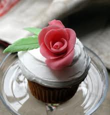 Marzipan rose