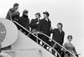 Beetles JFK 1964, Fettuccine Alfredo Day, Wave All Your Fingers Day