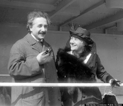 Einstein, second wife, Elsa.