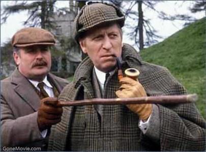 Sherlock homes tweed