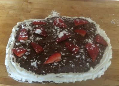 April fools cake