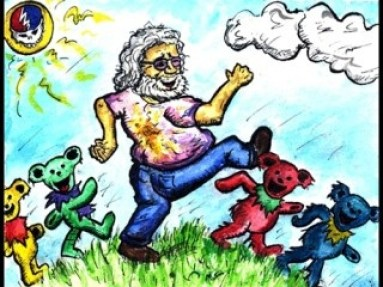 Jerry Garcia - Bears and Boomboxes Oh My!