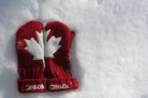 Canadian mittens, Canada Day, Joke Day, Ice Cream Month