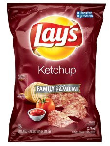Ketchup chips , Canada Day, Joke Day, Ice Cream Month