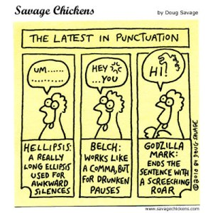 Punctuation Day, Bluebird of Happiness, Cherries Jubilee Day