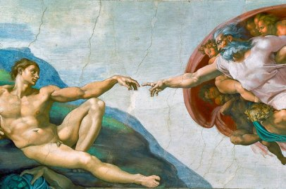 sistine-chapel-creation-of-adam, Day of the Dead, All Saints Day, Vinegar Day, Fried Clams