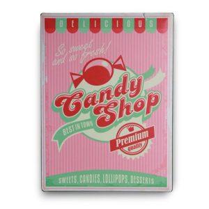 Candy-Shop-Metallinen-Kyltti-30-x-40-cm-1