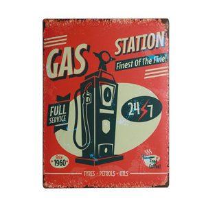 Gas-Station-Metallinen-Kyltti-30-x-40-cm-1